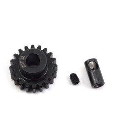 Protek RC ProTek RC Steel 32P Pinion Gear w/3.17mm Reducer Sleeve (Mod .8) (5mm Bore) (20T)