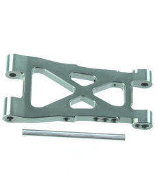 Redcat Racing Aluminum Front/Rear Lower Suspension Arm (Gunmetal), Lower Inner Hinge Pin (1pc ea.)