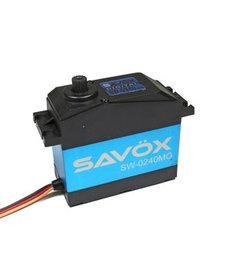 Savox SAVSW0240MG SERVO DIGITAL IMPERMEABLE 5a ESCALA .15 / 486 ALTO VOLTAJE