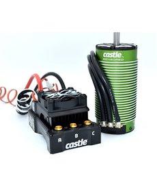 Castle Creations Castle Creations Mamba XLX 2 1/5 Sensored ESC sin escobillas / Motor Combo (800Kv) con motor 2028
