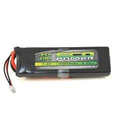 "Eco Power EcoPower ""Electron"" 2S LiPo 25C Battery (7.4V/4000mAh)"