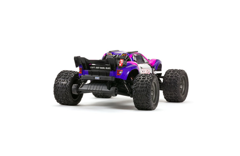 Arrma VORTEKS 4X4 3S BLX 1/10th Stadium Truck (Purple)