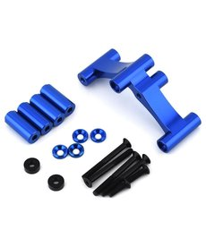 DragRace Concepts 328-002 DragRace Concepts Drag Pak Wheelie Bar Mount (Blue) (Fits DRC & Hot Racing Transmission)