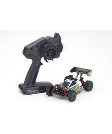 Kyosho 1/24 MINI-Z 4x4 RC Buggy Readyset INFERNO MP9 Electric White / Black 32091WBK