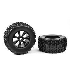 Corally C-00180-378 Off-Road 1/8 Monster Truck Tires - Gripper - Glued on