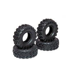 AXI AXI40003   Neumáticos  1.0 Rock Lizards (4 piezas): SCX24