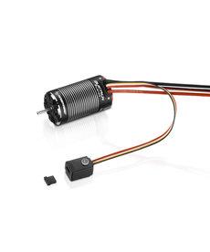 Hobbywing Sistema QuicRun Fusion FOC (2 en 1) Motor sin escobillas de 1800 kv con ESC incorporado
