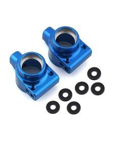 Exotek EXO1956 Exotek DR10 Aluminum Rear Hubs (Blue) (2)