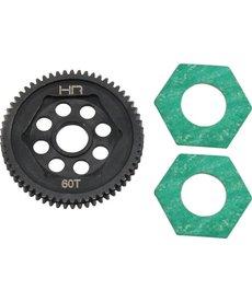 Hot Racing SMTT60M05 Steel Spur Gear 60t 0.5M : Mini-T2