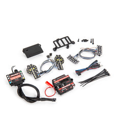 Traxxas Pro Scale® LED light set, Ford Bronco (2021), complete with power module (includes headlights, tail lights, & distribution block) (fits #9211 body)