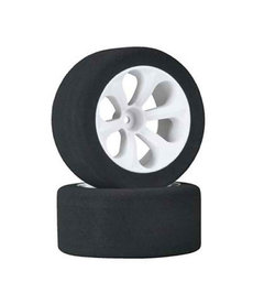 JAC JAC2050 1/10 RC Neumáticos de espuma trasero 12mm Prism Racing, rosa (2): Rustler, Stampede VXL