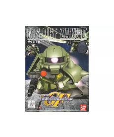 Bandai BB218 MS-06F Zaku II SD Action Figure