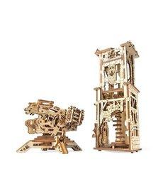 UGears UGears Archballista-Tower Wooden 3D Model
