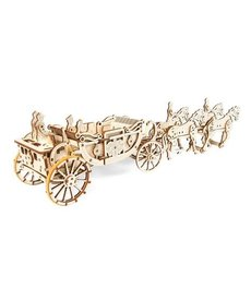 UGears UGears Royal Carriage Limited Edition Wooden 3D Model