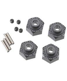 Axial AX30429 Aluminum Hex Hub 12mm Black (4)
