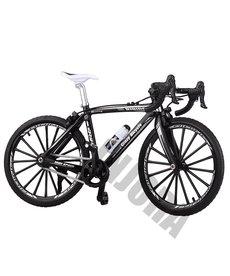 INJORA Bicicleta de montaña deportiva de metal INJORA negra para 1/10 RC Crawler Axial Traxxas