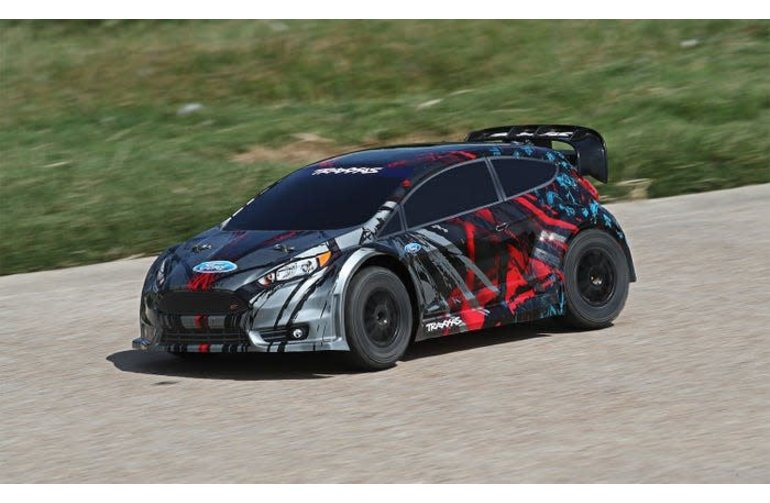 Traxxas 74054-4  Ford Fiesta ST Rally: 1/10 Scale Electric Rally Racer with TQ 2.4GHz radio system