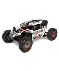 LOSI Super Rock Rey: 1/6 4WD Elec Rock Racer, RTR White