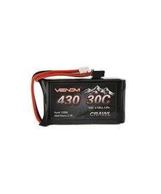 Venom 15206 7.4V 430mAh 2S 30C Batería LiPo JST-PH 2.0 SCX24