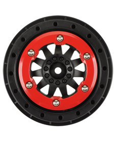 Proline Racing F11 2.2 / 3 Rojo / Negro Bead-Loc Whl: SLH4x4, Blitz