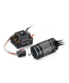 Hobbywing MAX8 Combo T-Plug ESC sin escobillas con motor EZRUN 2200KV