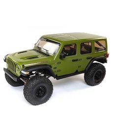 Axial 1/6 SCX6 Jeep JLU Wrangler 4WD Crawler RTR: Green