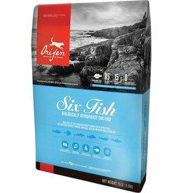 Orijen Orijen Six Fish/ Mackerel,Herring, Flounder, Red Fish, Monkfish & Silver Hake Dry Dog Food-