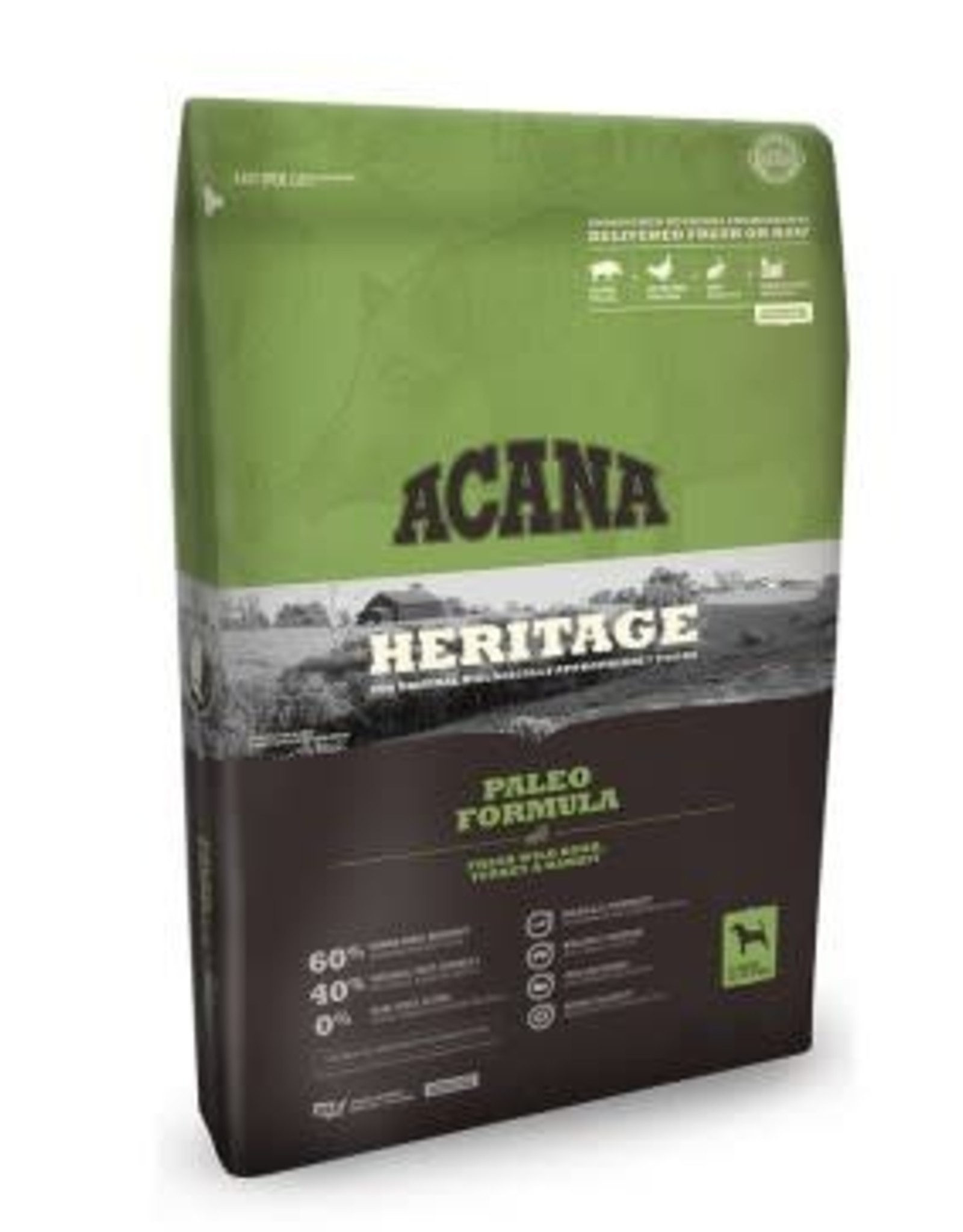 Acana ACANA Heritage Paleo/ Fresh Wild Boar, Turkey & Rabbit Dry Dog Food-