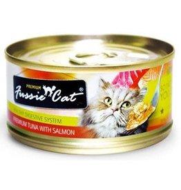 Fussie Cat Fussie Cat Premium Tuna With Salmon Formula In Aspic 2.82 oz