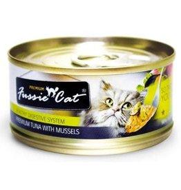 Fussie Cat Fussie Cat Tuna With Mussels In Aspic Premium Grain Free Cat 2.82 oz