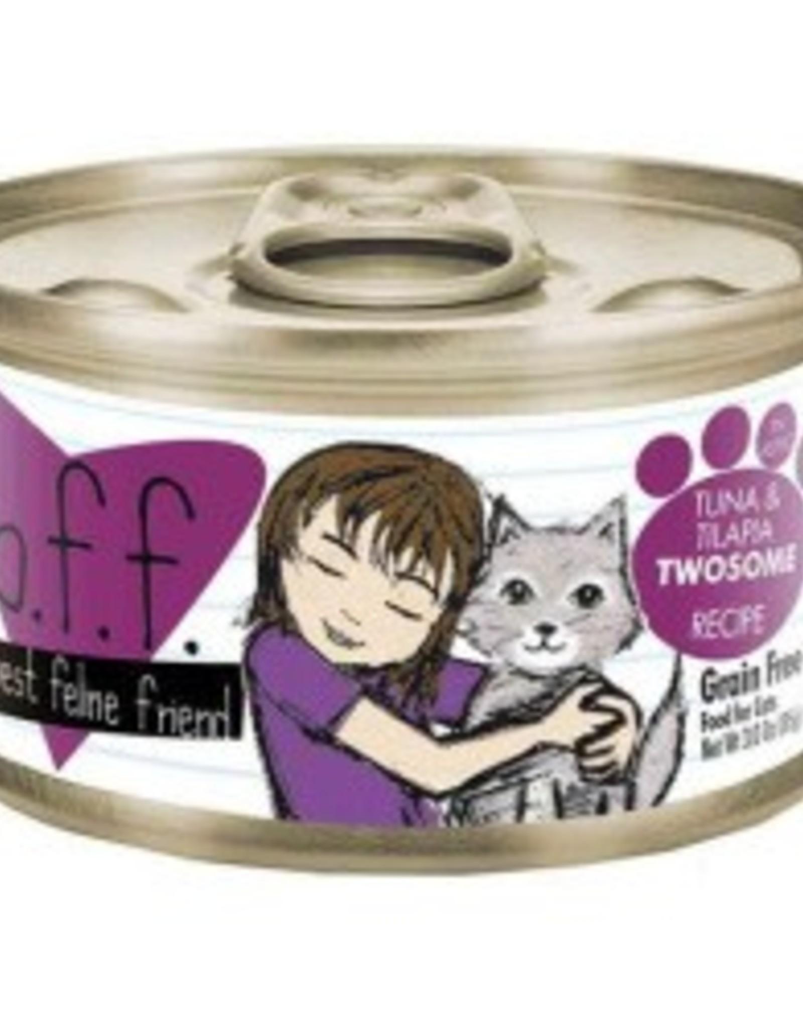 Weruva Weruva BFF Cat Food, Tuna & Tilapia Twosome Recipe 3 oz.