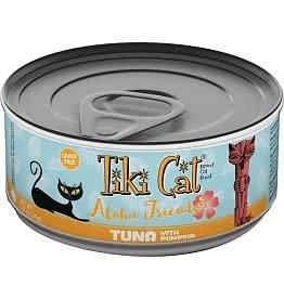Tiki Cat TIKI CAT ALOHA FRIENDS CANNED CAT FOOD TUNA W/PUMPKIN 12/ 3 OZ.