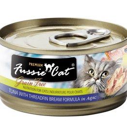 Fussie Cat Fussie Cat Premium Tuna with Threadfin Bream 2.8 oz