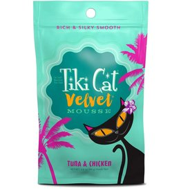 Tiki Cat Tiki Cat Velvet Mousse Cat Food Tuna & Chicken 2.8 oz