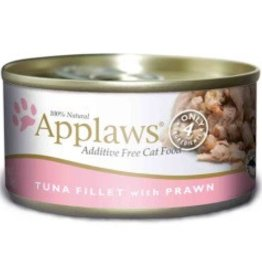Applaws Applaws Tuna Fillet with Prawn Canned Cat Food 2.47 oz