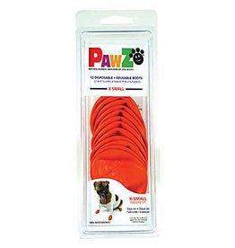 Pawz Boots PAWZ DOG BOOTS X-SMALL ORANGE