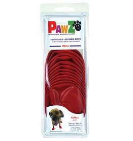 Pawz Boots PAWZ DOG BOOTS SMALL RED