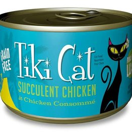 Tiki Cat Tiki Cat Puka Puka Luau Succulent Chicken in Chicken Consomme Cat Canned Food 6 oz