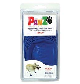 Pawz Boots PAWZ DOG BOOTS MEDIUM BLUE