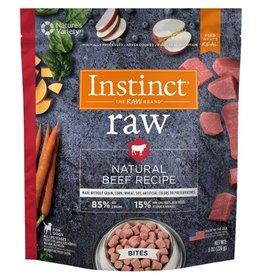Nature's Variety Instinct Raw Dog Treats Natural Beef Bites 8 oz