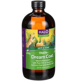 Halo Halo VitaGlo Dream Coat Dog Supplement- 16 oz. bottle