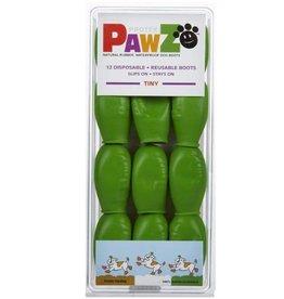 Pawz Boots Pawz Natural Rubber Waterproof Dog Boots, 12 Pack xxs