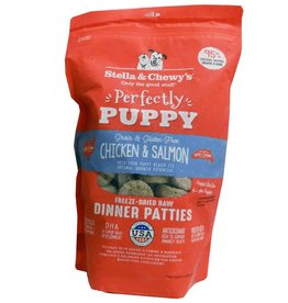 Stella & Chewy's Stella & Chewy's Perfectly Puppy Chicken & Salmon Dinner Patties Freeze-Dried Raw Dog Food