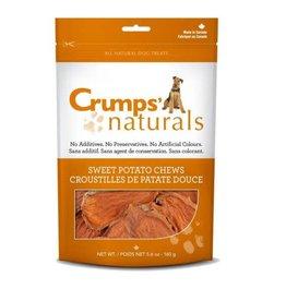 Crump Naturals Crumps Naturals Sweet Potato Chews Dog Treats- 5.6 oz. Bag