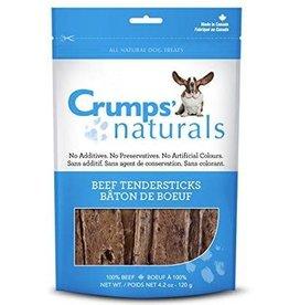 Crump Naturals Crumps  Naturals Tender Sticks Beef Dry Dog Treats- 1.9 oz. Bag