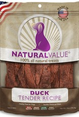 Loving Pets Loving Pets Natural Value Soft Chew Duck Tenders Dog Treats- 14 oz.