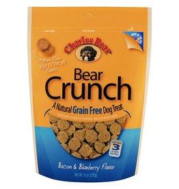 Charlee Bear Charlee Bear Natural Bear Crunch Bacon & Blueberry Grain-Free Dog Treats 8 oz
