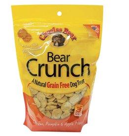 Charlee Bear Charlee Bear Natural Bear Crunch Chicken, Pumpkin & Apple Grain-Free Dog Treats- 8 oz. bag