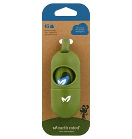 Earth Rated Earth Rated PoopBags Dispenser with Bags for Dogs 1 Dispenser 15 bags unscented
