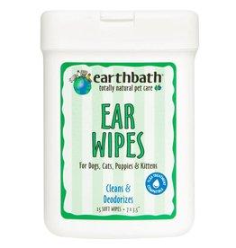 """Earthbath Earthbath Ear Wipes for Dogs- 25 count/ 7x3.5"""""""